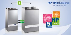 Read more about the article Geld besparen met de Itho Daalderop HP Cube hybride warmtepomp