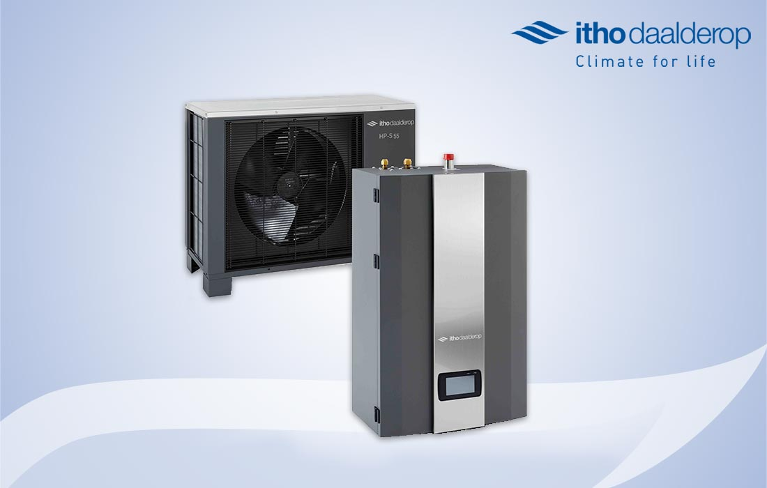 You are currently viewing Itho Daalderop HP-S warmtepomp in all-electric en hybride.