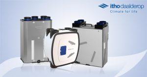 Read more about the article Itho Daalderop WTW-units: ventilatie met warmteterugwinning