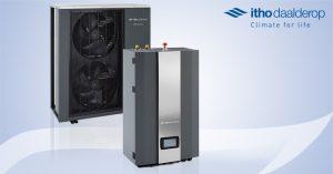Read more about the article Duurzaam verwarmen en koelen met de HP-S warmtepomp van Itho Daalderop